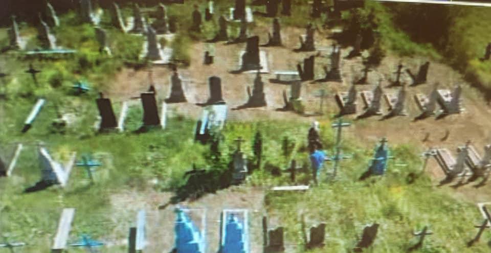 Так выглядит кладбище в Загорцах.Фото — Юрий Гула.
