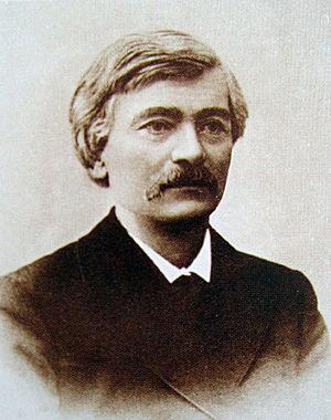 Историк и археолог Владимир Антонович, который считается первооткрывателем барельефа. Фото —«Википедия».