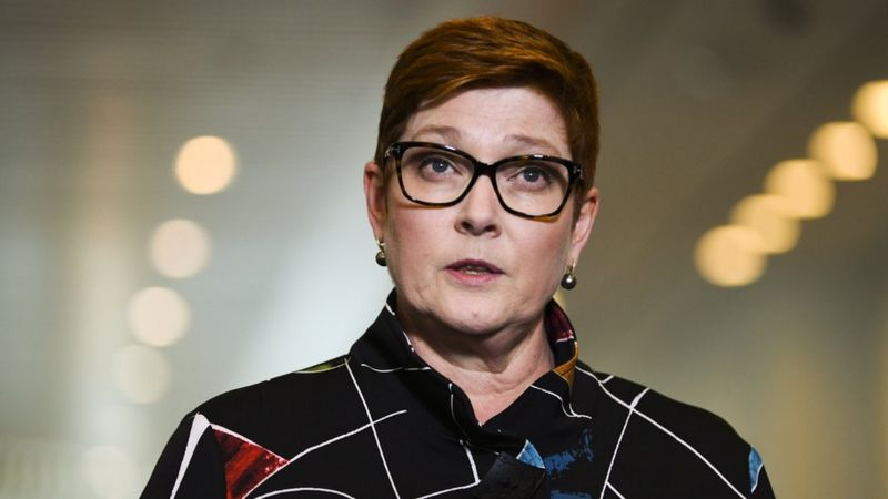 Глава МИД Австралии Мэрис Пэйн. Фото — EPA.