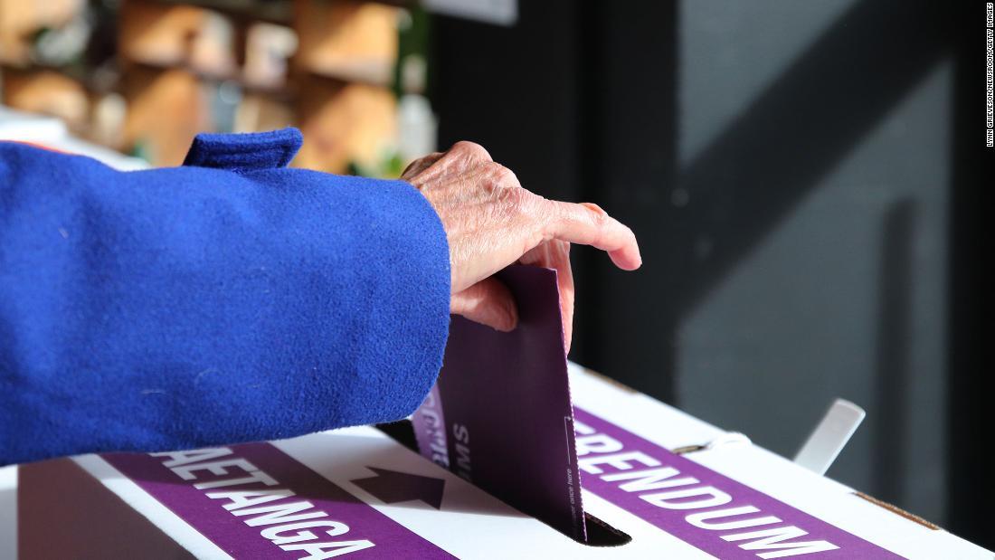 Новозеландцы на референдуме поддержали эвтаназию и отказались от легализации каннабиса