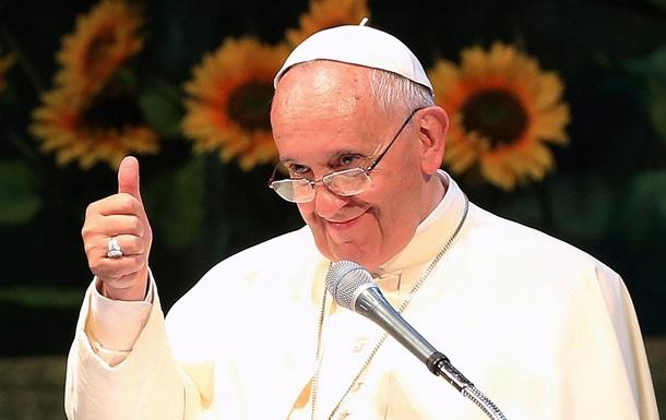 Папа римский впервые поддержал легализацию однополых браков