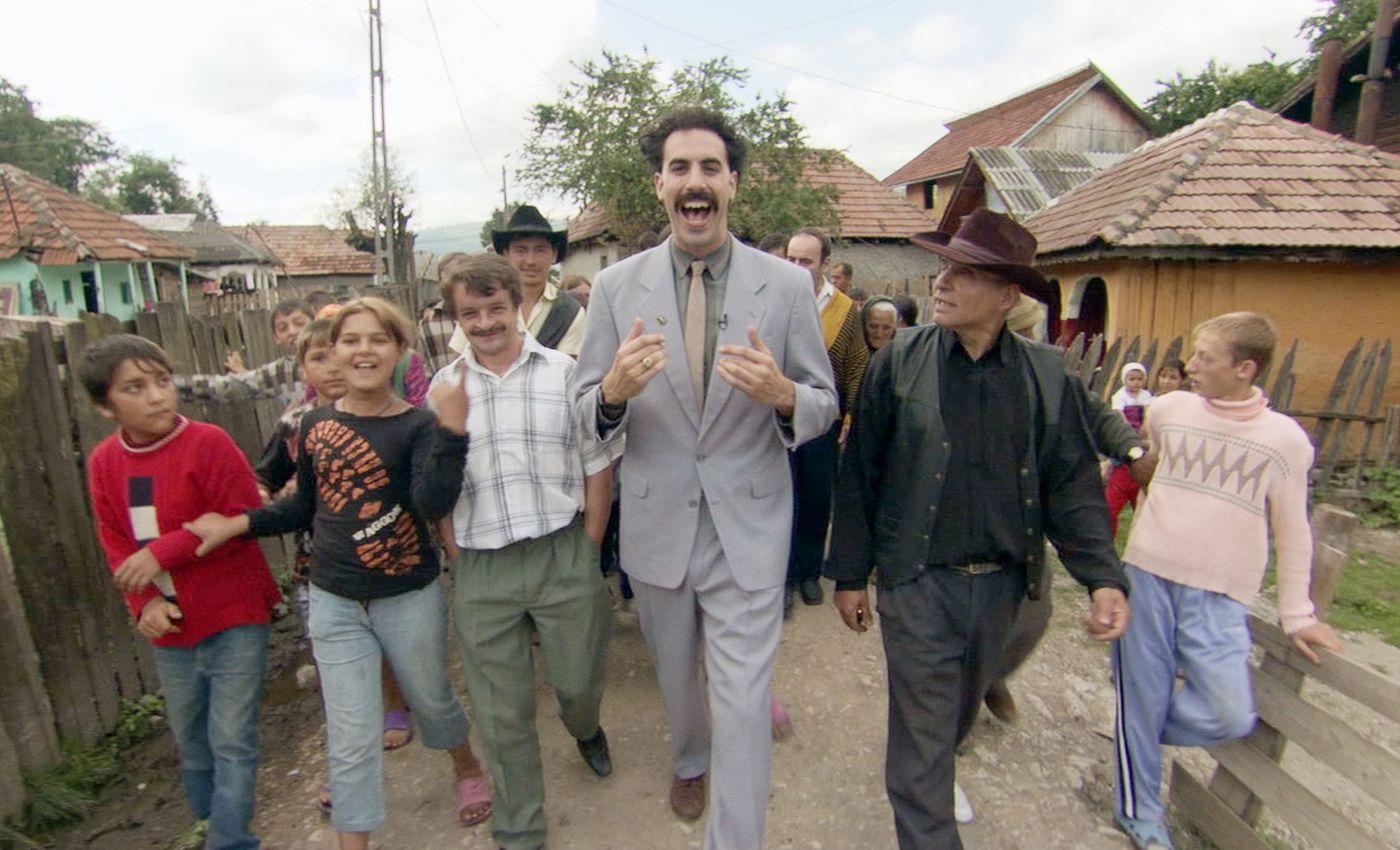 Кадр из фильма «Борат» 2006 года.