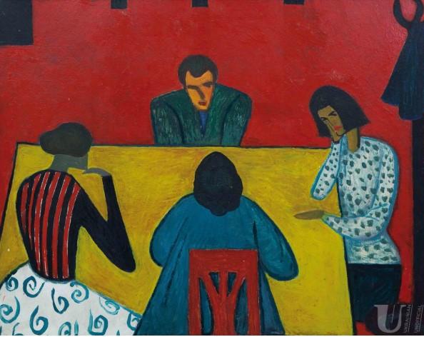 «Разговор». Петр Маркович. 1961 год.