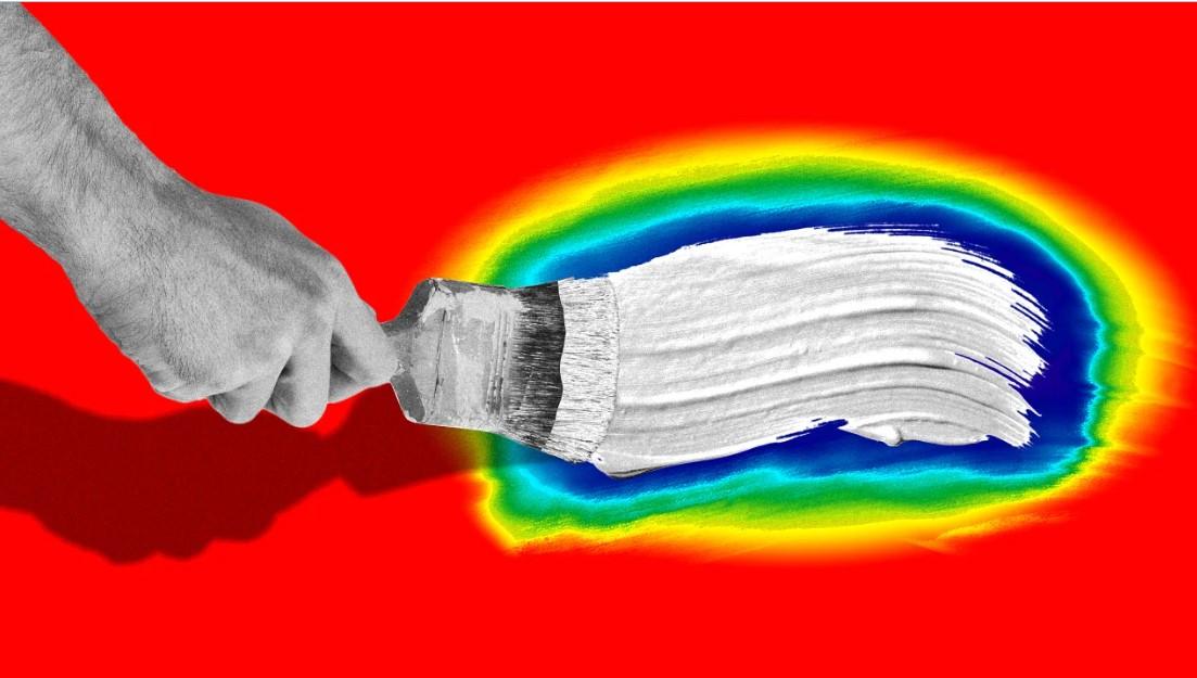 Ученые создали краску супербелого цвета. Объясняем, как она поможет бороться с изменением климата