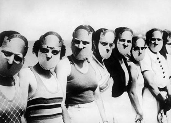 Конкурс «Мисс милые глаза», 1930-е годы.