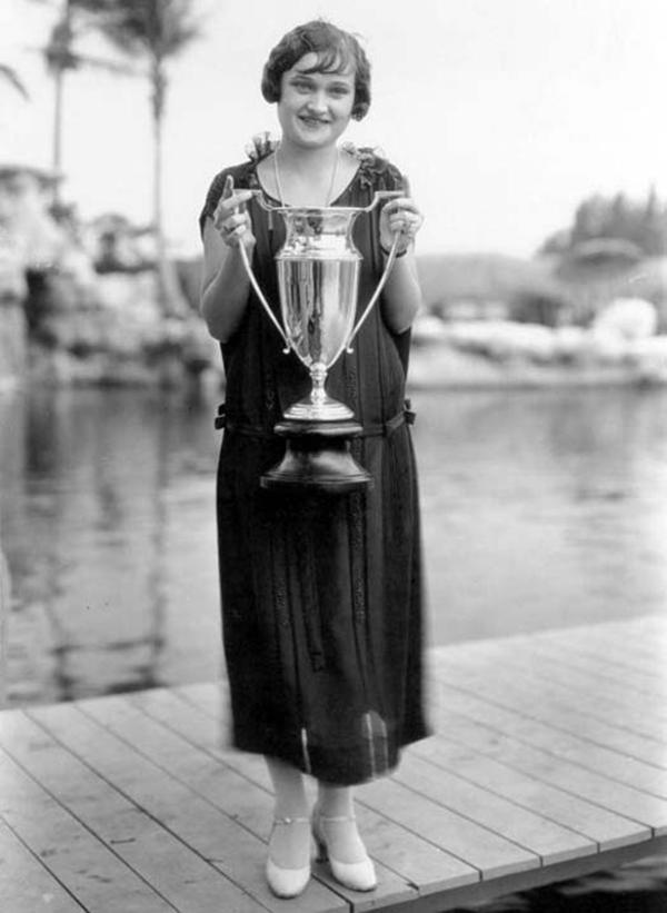 Мисс короткая стрижка, 1925 год.