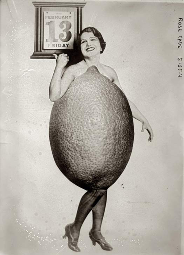 Мисс лимон, 1920 год.