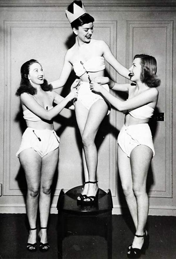 Мисс Королева подгузников, 1947 год.