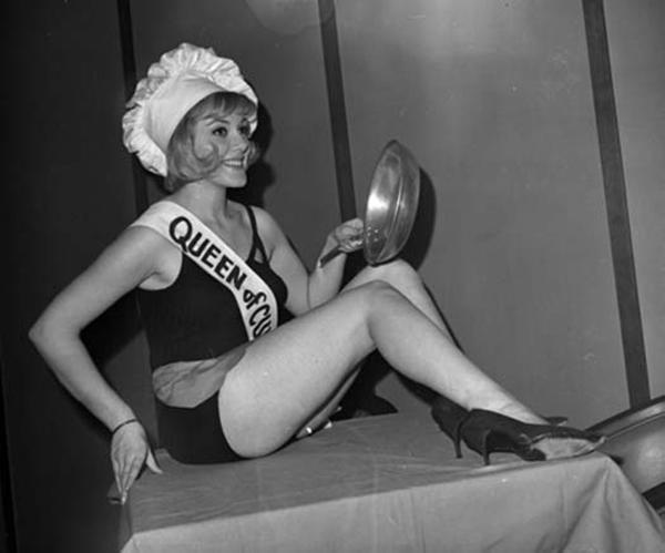 Мисс Королева кухни, 1964 год.