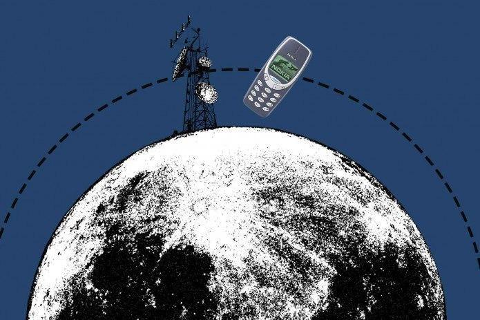 Nokia создаст первую сеть сотовой связи на Луне. Компания подписала контракт с NASA