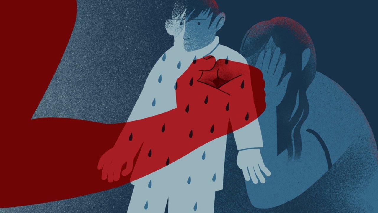 В Запорожской области 10-летний мальчик убил отца во время его ссоры с матерью