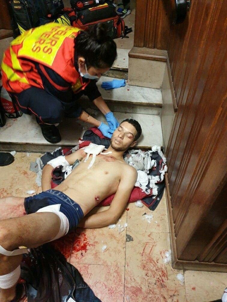 Террорист из Ниццы. Фото — Collectif Némésis.