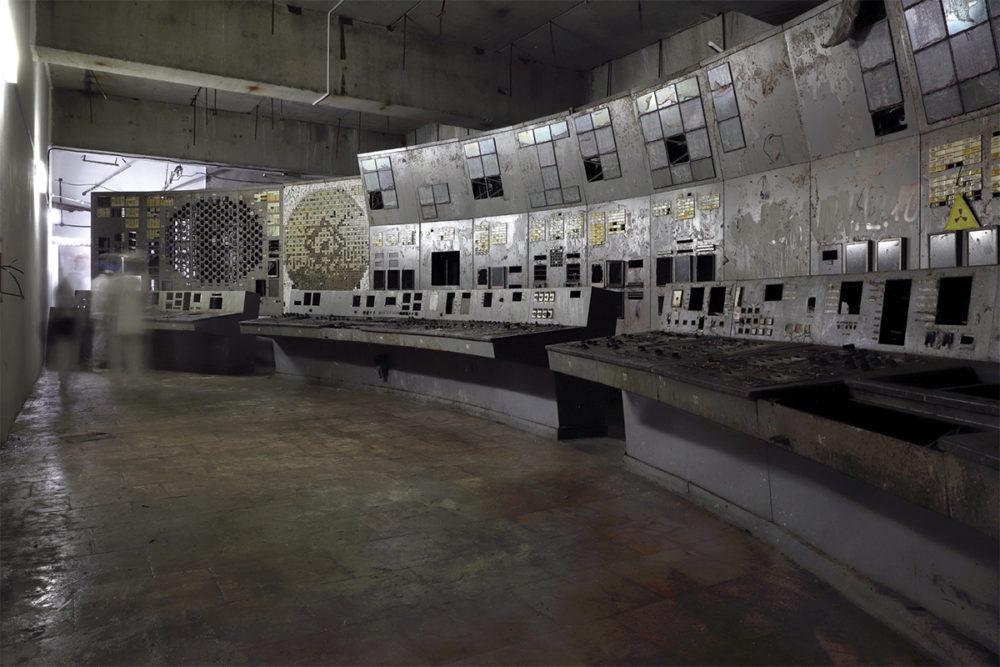 Диспетчерская № 4 — комната, где произошла катастрофа 1986 года. Сегодня она объявлена безопасной для посетителей. С осени 2019 года руководство включило помещение в официальные туры.