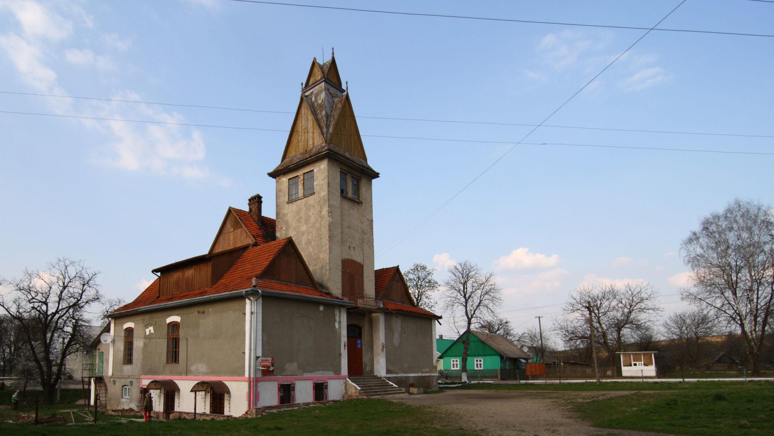 Так ратуша выглядела до начала работ. Фото — Виталий Ищук.