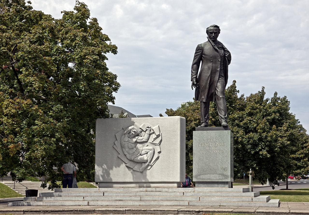 Мемориал Тараса Шевченко в Вашингтоне. Фото — «Википедия».