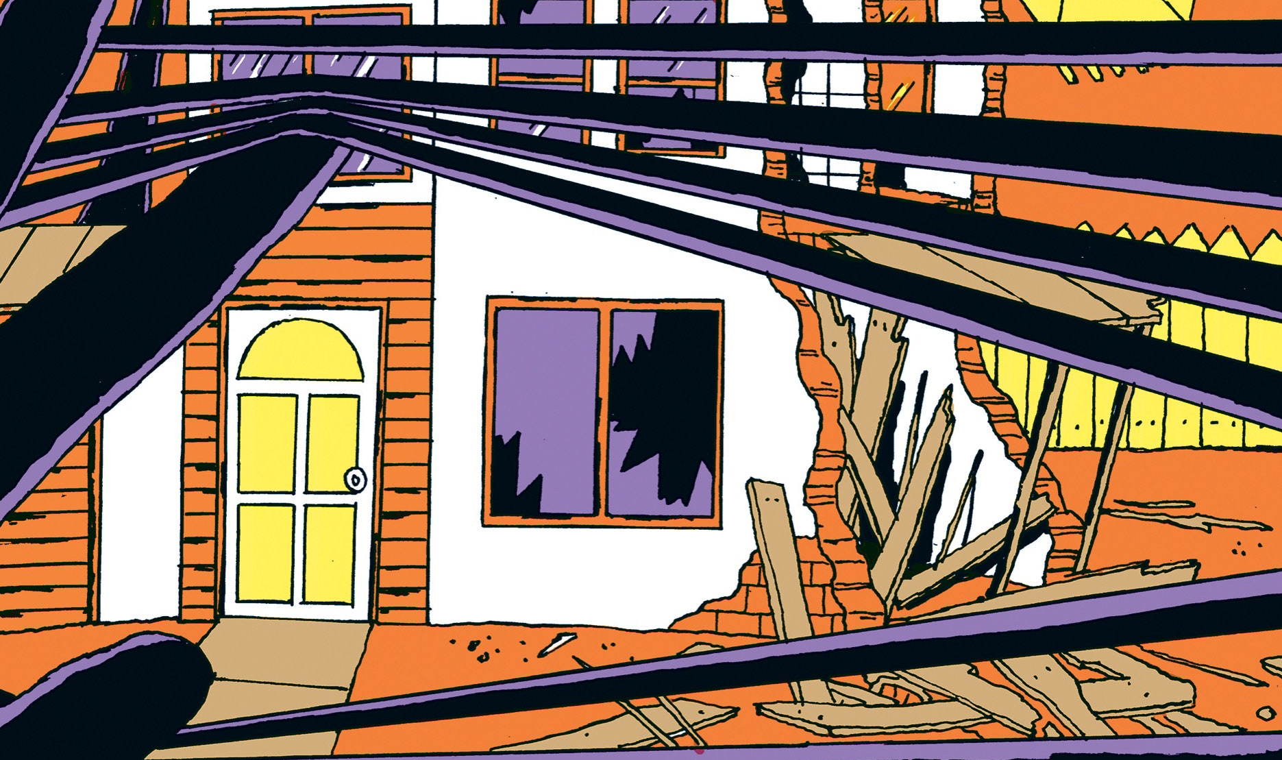 Снос заброшенных зданий не уменьшает уровень преступности. Исследование