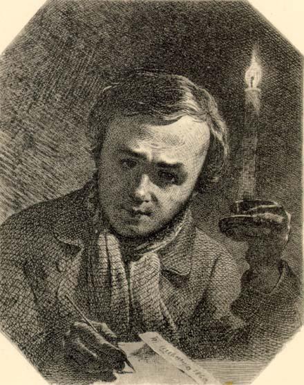 Автопортрет со свечой. Фото — «Википедия».