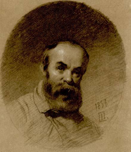 Автопортрет 1857 года. Фото — «Википедия».