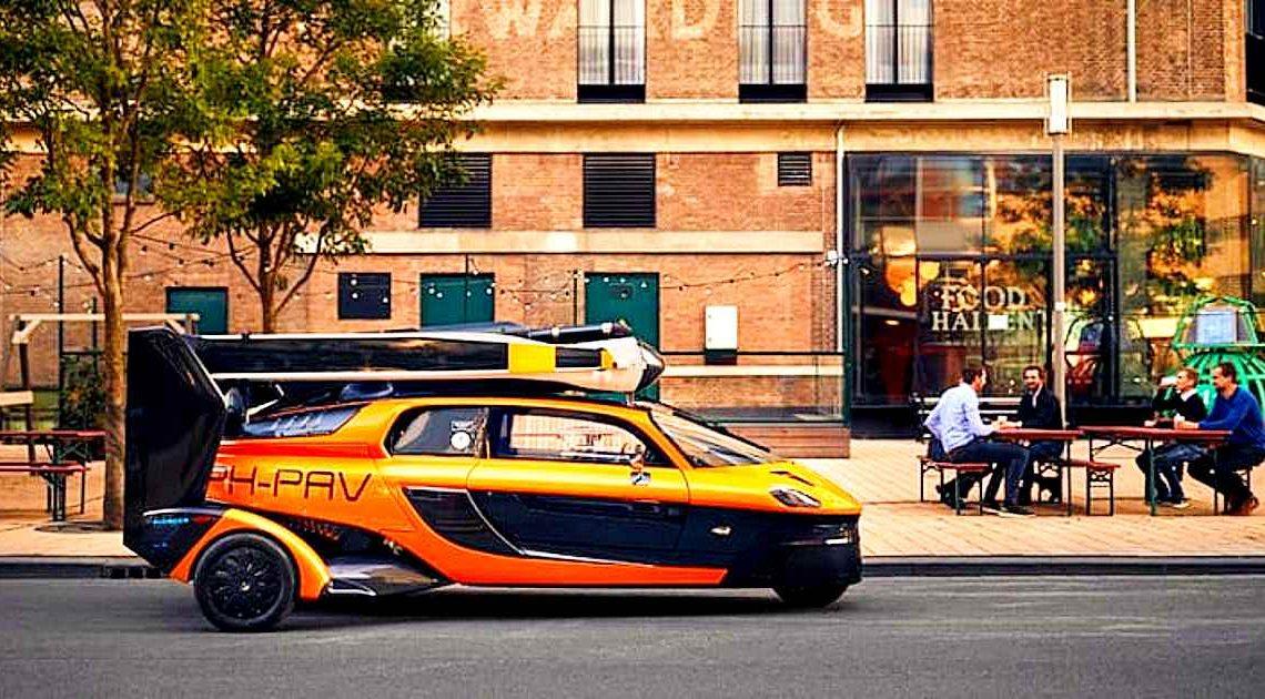 Первый летающий автомобиль зарегистрирован в Нидерландах. Теперь он — участник дорожного движения!