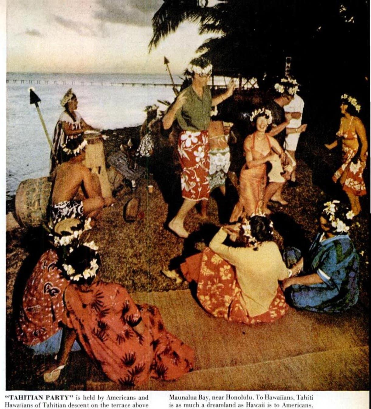 Гид по Гавайям 1950-х: посмотрите, как острова выглядели до того, как стали американским штатом