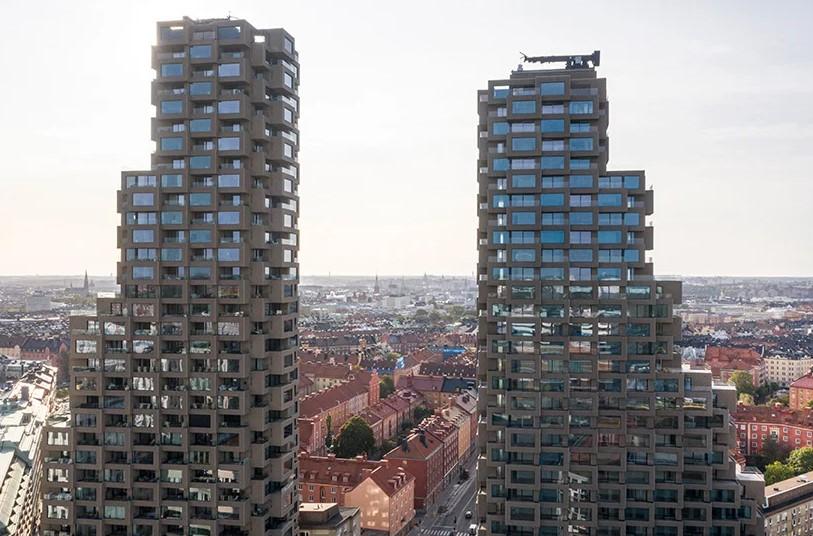 «Панельный дом для зажиточных» в Стокгольме признан лучшим небоскребом в мире