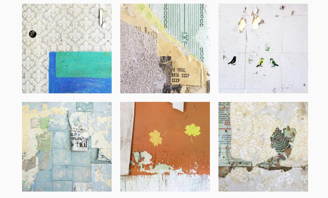 Instagram дня. Итальянцы исследуют эстетику стен советских хрущевок