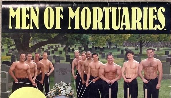 Instagram дня. Календарь полуобнаженных гробовщиков и другие странные предметы из комиссионки