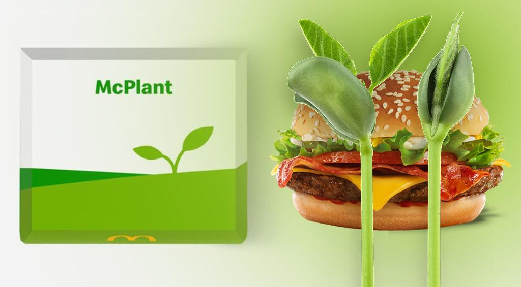 McDonald's решил делать котлеты для бургеров из веганского мяса