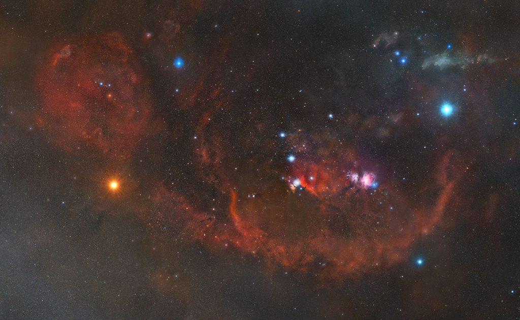 Американец опубликовал детальное изображение созвездия Орион. Понадобилось 5 лет и 2508 фотографий
