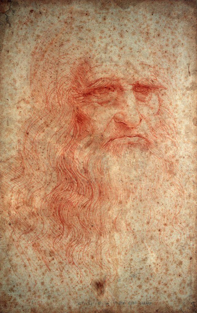 Автопортрет Леонардо да Винчи, 1512-1515 годы. Фото — DeAgostini.