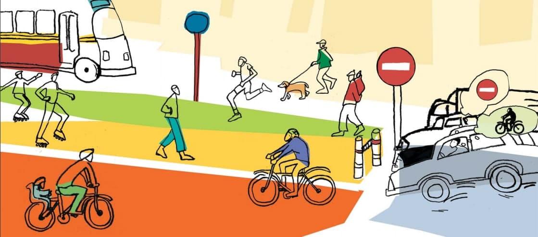 Пассажирам — ремни, пешеходам — светоотражатели, велосипедистам — автобусная полоса. В Украине вступили в силу изменения в ПДД