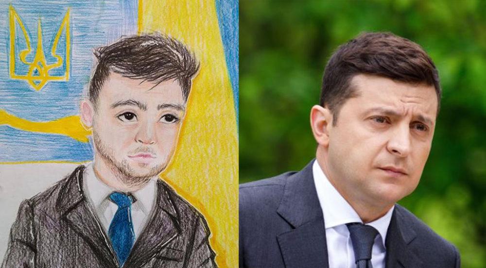 Детский конкурс рисунков «Мой любимый олигарх» оказался акцией художника