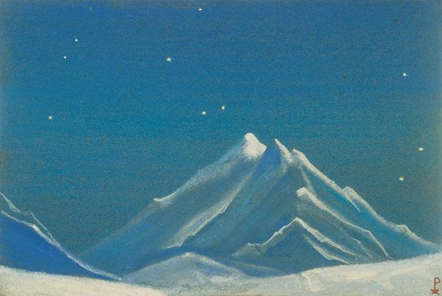 «Эверест. Ночь». Картина Николая Рериха 1938 года.