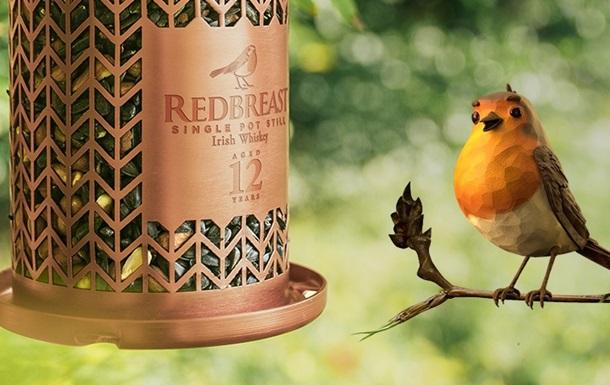Ирландский бренд Redbreast выпустил виски с кормушками для птиц