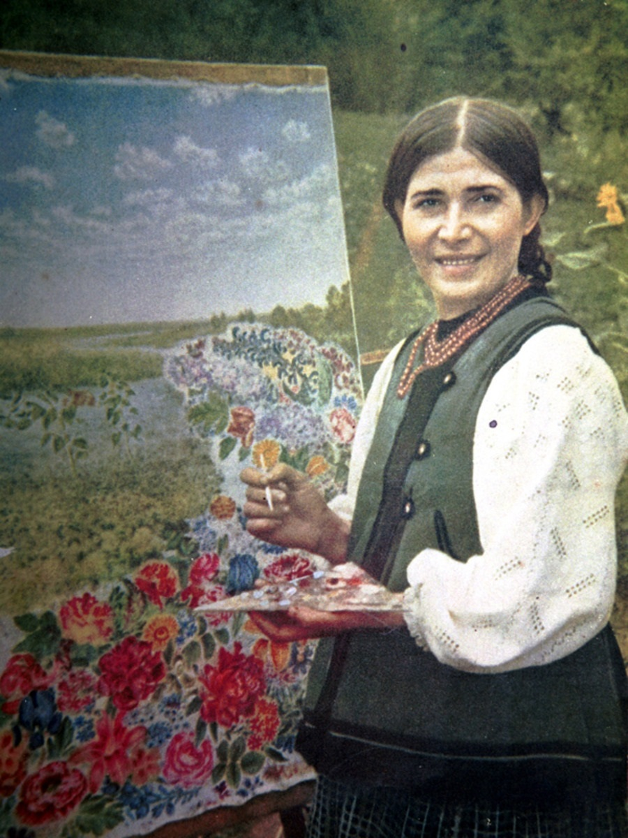 Катерина Белокур. Фото — «Википедия».