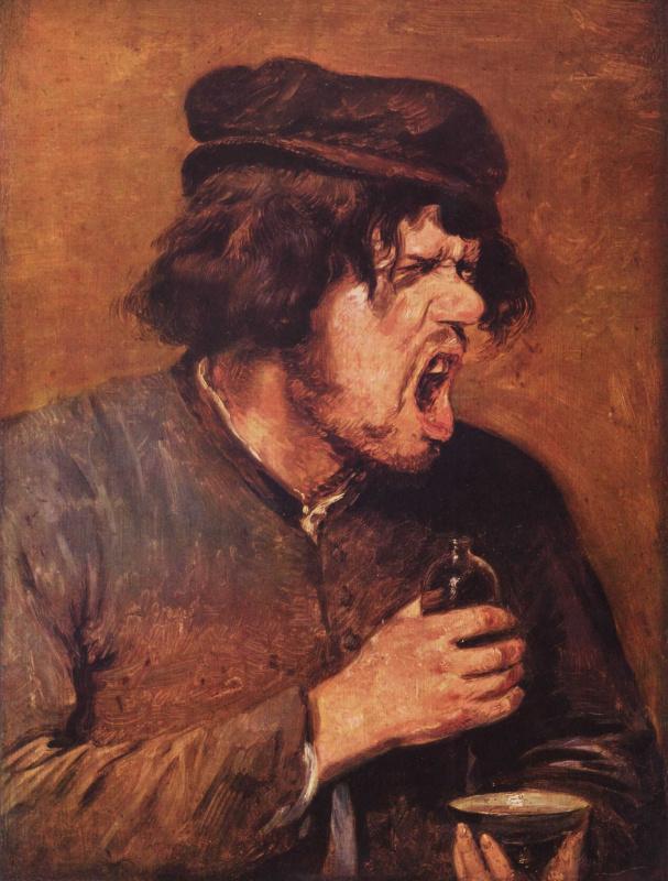 Адриан Браувер — Пьяница