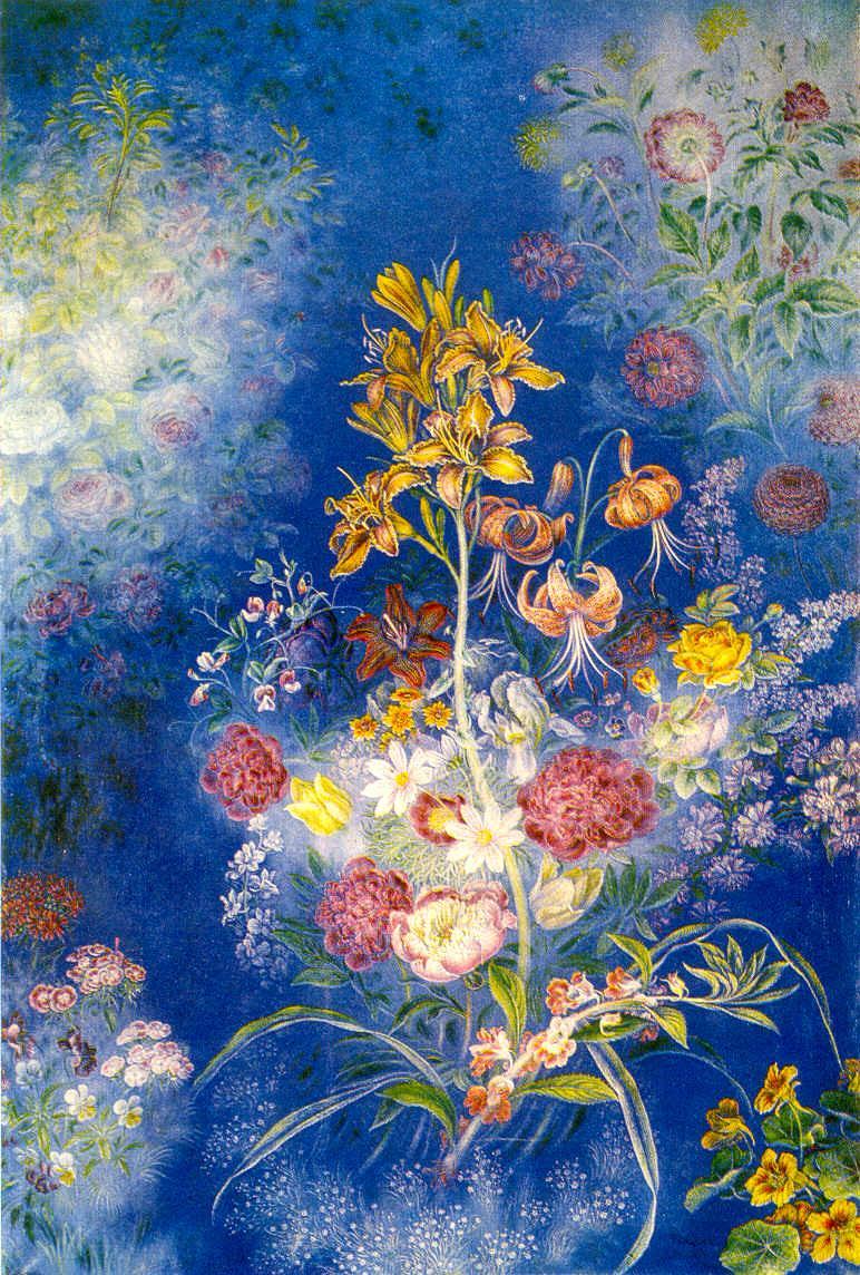 «Цветы на синем фоне» (1954). Фото — «Артхив».