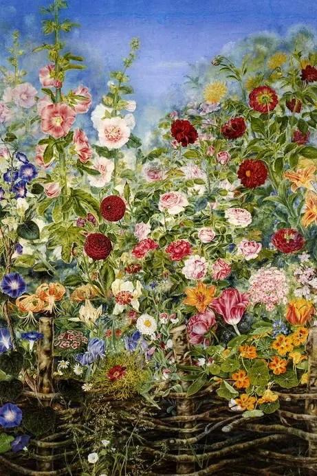 «Цветы за плетнем» (1935). Фото — «Артхив».