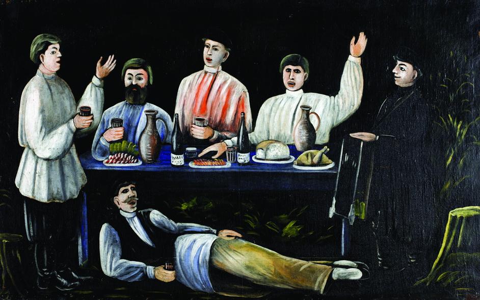 Нико Пиросмани — Кутёж молокан