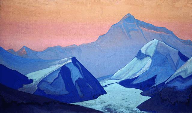 «Эверест». Картина Николая Рериха 1938 года.