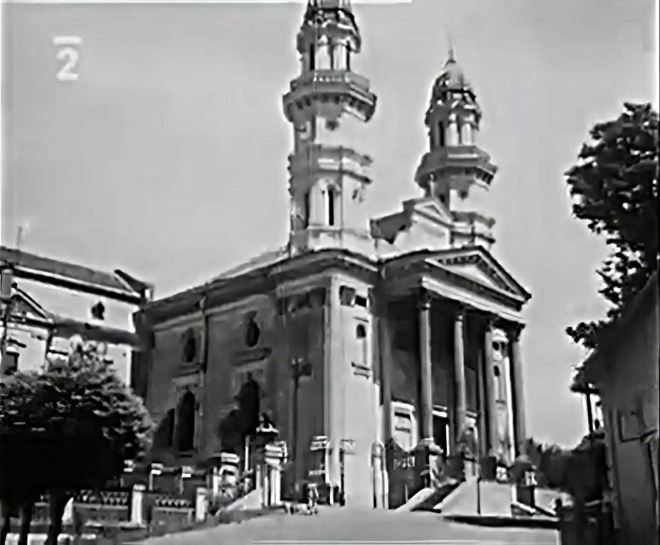 Кафедральный собор. Кадр видео 1930 года.