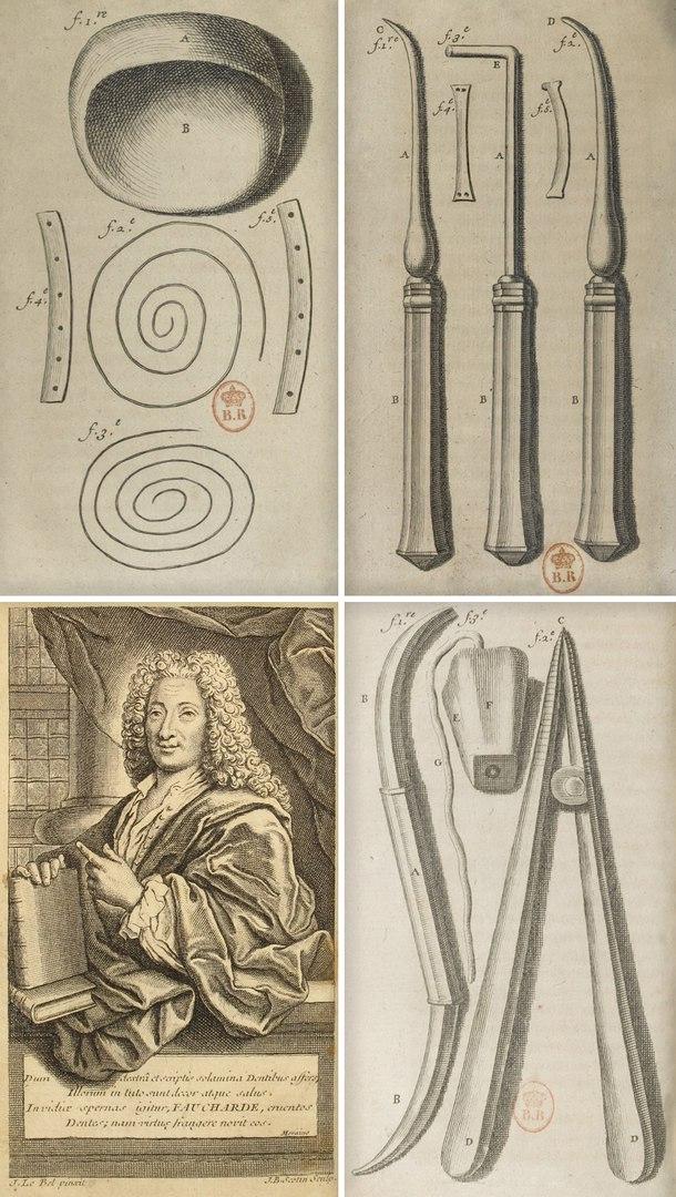 Пьер Фошар и его инструменты.