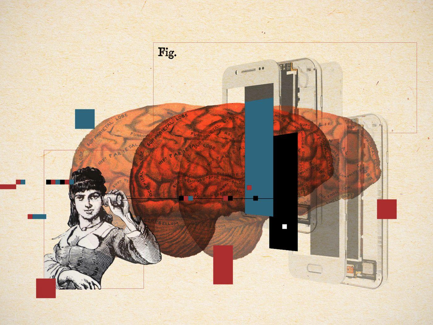 Смартфоны не влияют на психическое здоровье, а опасения на этот счет — да. Исследование
