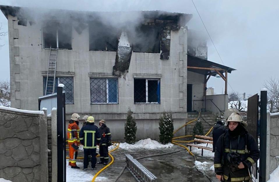 Пожар в доме престарелых в Харькове: 15 человек погибли
