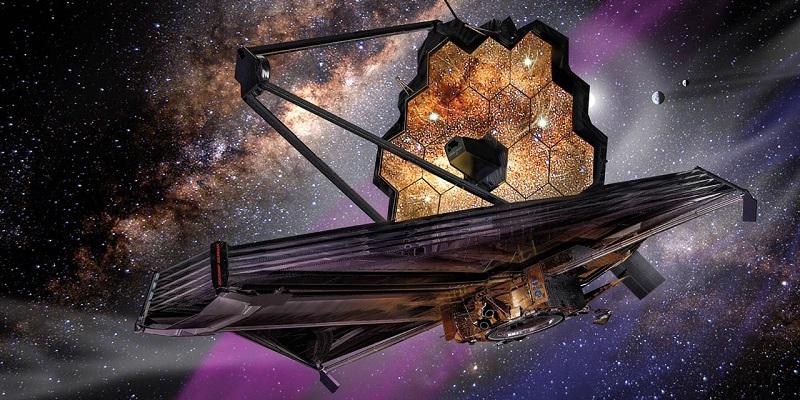 Телескоп Джеймса Уэбба.