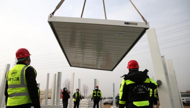 Китай за пять дней построил COVID-больницу на 1500 мест