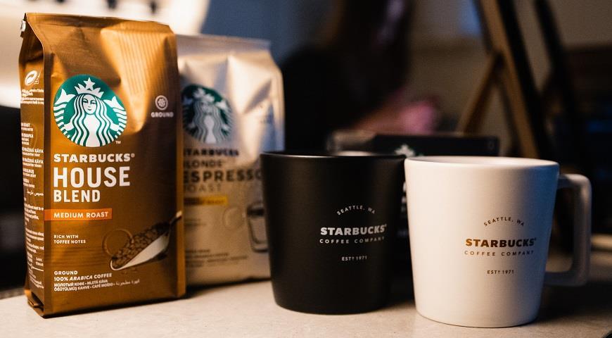 В Украине началась продажа кофе Starbucks. Но без сети кофеен