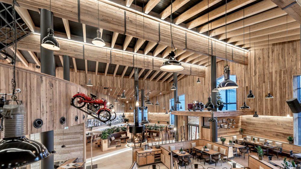 В Австрии сгорел самый высокогорный музей Европы с коллекцией раритетных мотоциклов