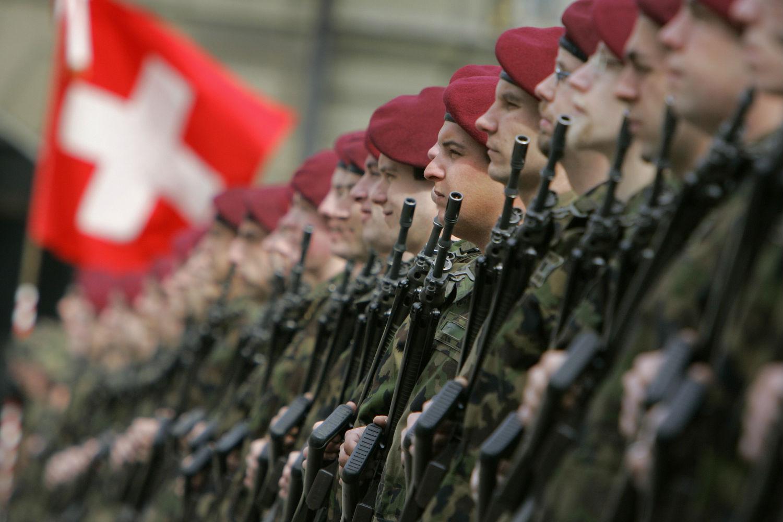 Швейцарские призывники будут проходить военную подготовку онлайн
