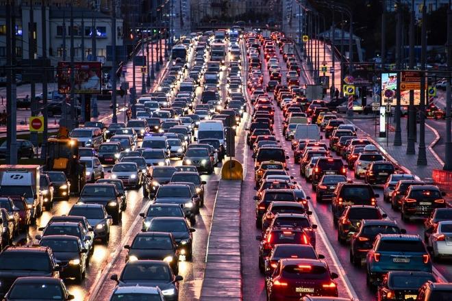 Киев занял седьмое место в мире по загруженности автомобильных дорог